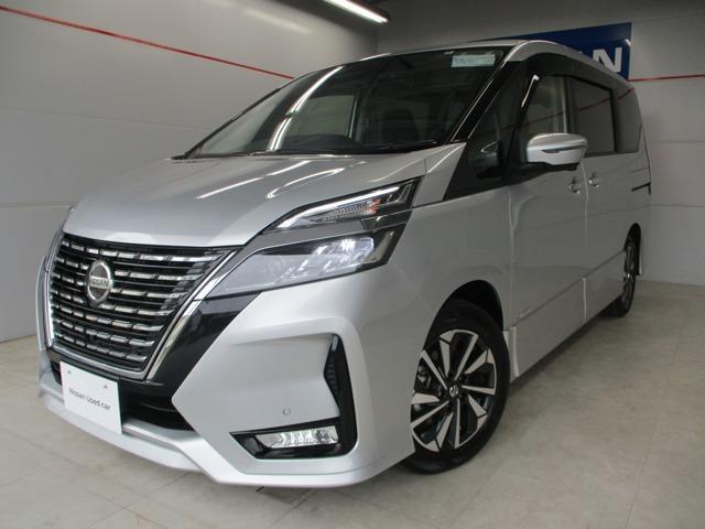 沖縄の中古車 日産 セレナ 車両価格 319万円 リ済別 2020(令和2)年 0.2万km シルバー