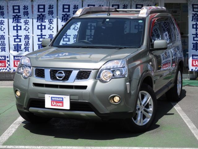 日産 2.5 25Xtt 4WD 純ナビ B・Sモニ ハイパールーフレール ワンオーナー バックカメラ 4WD ETC HDDナビ キーフリー HIDライト ナビTV