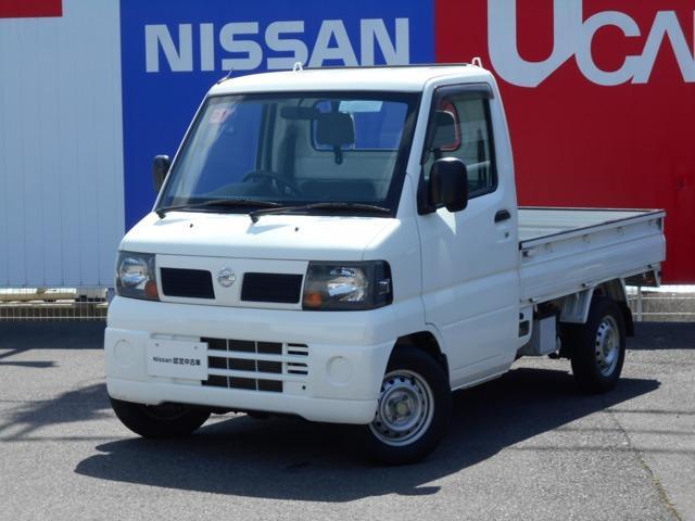 日産 クリッパートラック 660 DXエアコン付 4WD 三方開・5速マニアル エアバック パワーステアリング 1オーナー 4WD エアコンパワステ