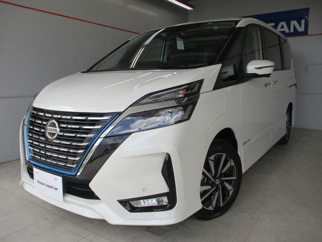 沖縄の中古車 日産 セレナ 車両価格 403万円 リ済別 2020(令和2)年 25km パールホワイト