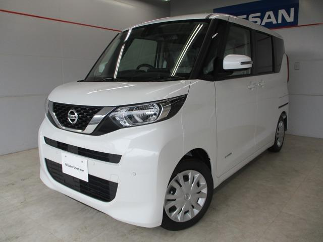 沖縄の中古車 日産 ルークス 車両価格 163万円 リ済別 2020(令和2)年 10km パールホワイト