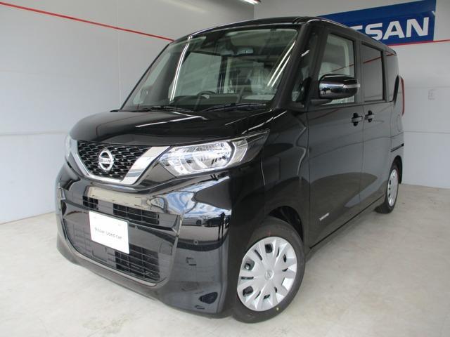 沖縄の中古車 日産 ルークス 車両価格 163万円 リ済別 2020(令和2)年 11km ブラック