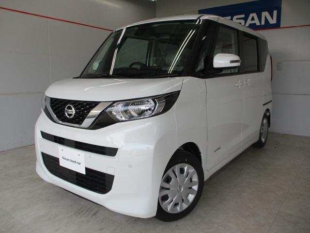 沖縄の中古車 日産 ルークス 車両価格 163万円 リ済別 2020(令和2)年 13km パールホワイト