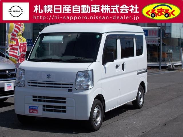 スズキ 660 PA ハイルーフ 5AGS車 4WD 日産ワイド保証1年
