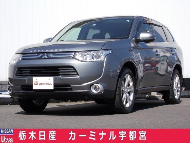 三菱 2.4 24G ナビパッケージ 4WD オートバックドア・ETC・メモリーナビ付