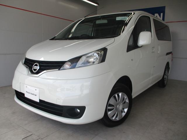 NV200バネットワゴン(沖縄 中古車) 色:パールホワイト 価格:155万円 年式:2019年 走行距離:0.9万km
