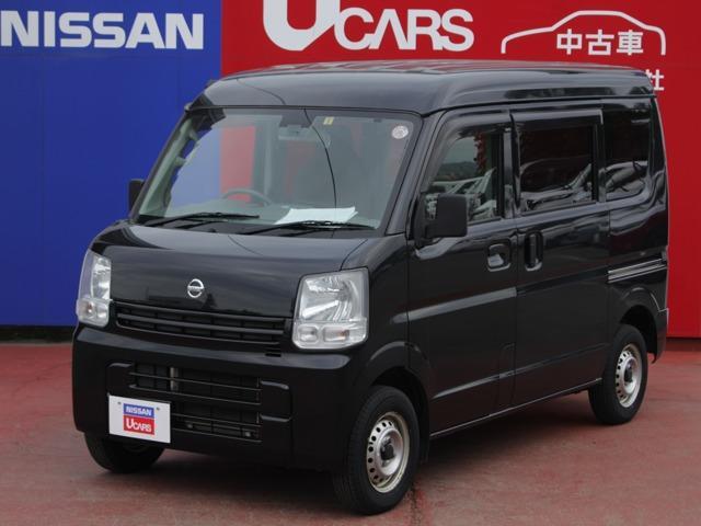 日産 NV100クリッパーバン 660 DX GLパッケージ ハイルーフ 5AGS車 4WD エマージェンシーブレーキ/純正ナビ