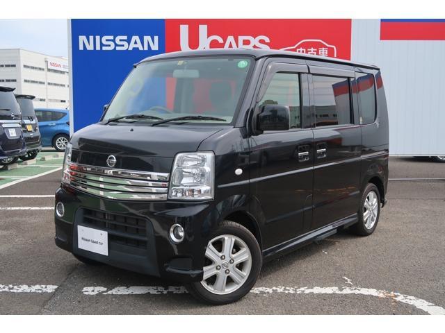 日産 660 G 4WD ナビ バックカメラ キセノン 両側電動 ETC