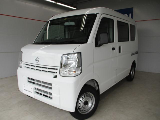 沖縄の中古車 日産 NV100クリッパーバン 車両価格 105万円 リ済別 2020(令和2)年 0.3万km ホワイト