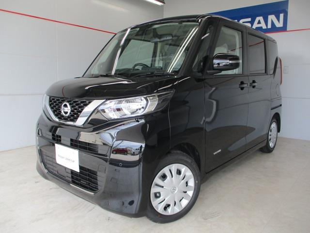 沖縄の中古車 日産 ルークス 車両価格 163万円 リ済別 2020(令和2)年 10km ブラック