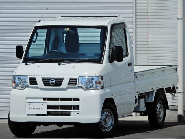日産 DX 純正AM・FMチューナー・運転席エアバック・ABS・強化リアサスペンション・ワンオーナー