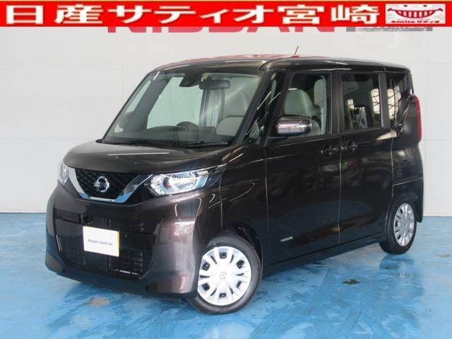 日産 ルークス 660 X 社有車アップ・純正ナビ