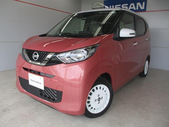 沖縄の中古車 日産 デイズ 車両価格 145万円 リ済別 2019年 1.0万km レッド