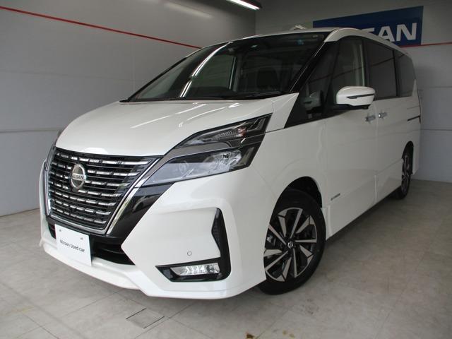 沖縄の中古車 日産 セレナ 車両価格 329万円 リ済別 2019年 26km パールホワイト