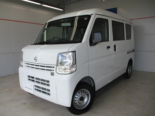 沖縄の中古車 日産 NV100クリッパーバン 車両価格 96万円 リ済別 2019年 0.6万km ホワイト