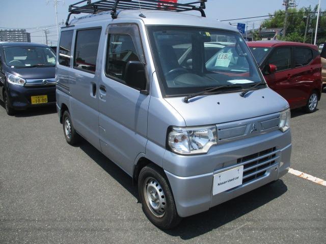三菱 ミニキャブバン 660 CD ハイルーフ キャリア付