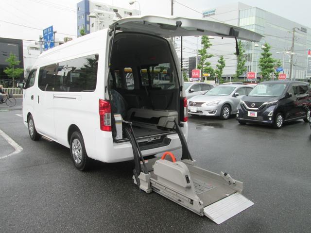 日産 2.5 チェアキャブ M仕様 車椅子2基 ドライブレコ-ダ-