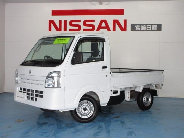 スズキ キャリイトラック 660 KCエアコン・パワステ 3方開 4WD CD/5速マニュアル