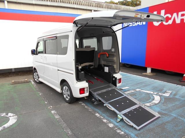 日産 NV100クリッパーリオ 660 チェアキャブ ハイルーフ 車椅子用スロープ