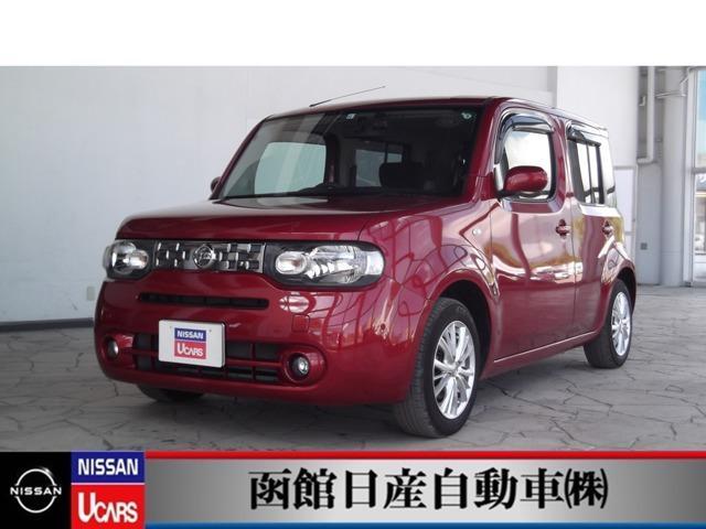 日産 キューブ 1.5 15X FOUR 4WD バックカメラ ナビ TV