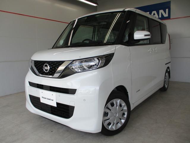 沖縄の中古車 日産 ルークス 車両価格 163万円 リ済別 2020(令和2)年 8km パールホワイト