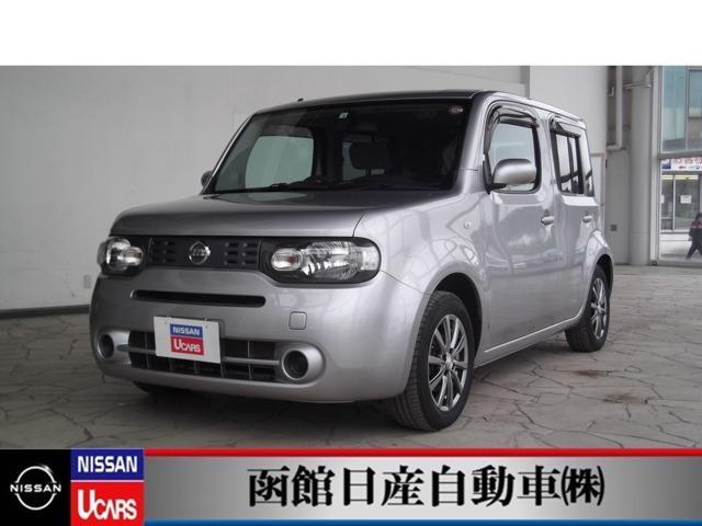 日産 キューブ 1.5 15X FOUR 4WD ナビ