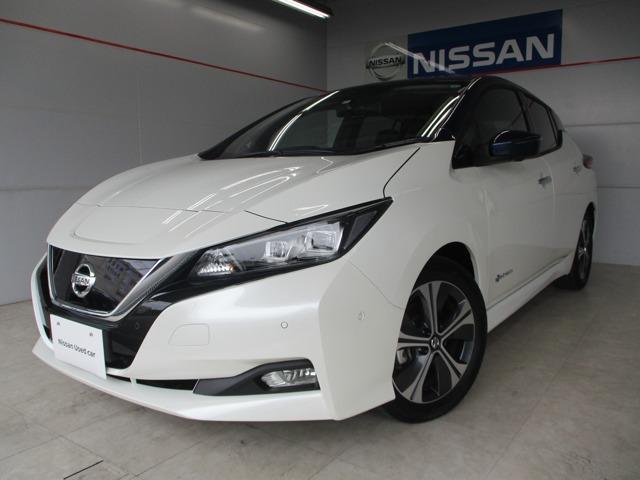名護市 琉球日産自動車(株) 名護店 日産 リーフ G パールホワイト 494km 2020(令和2)年