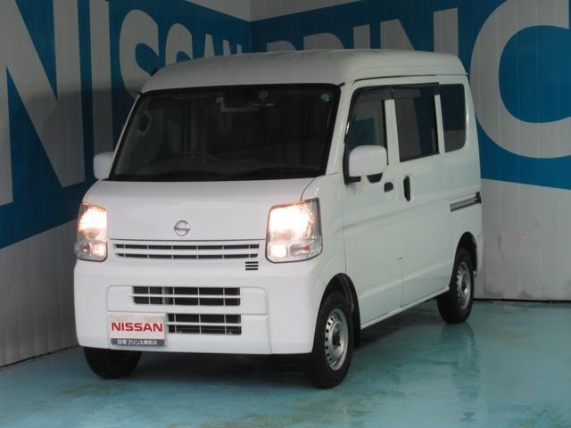 日産 NV100クリッパーバン 660 DX GL エマージェンシーブレーキ パッケージ ハイルーフ 5AGS車 CDオーディオ MTモード付 ワンオーナー