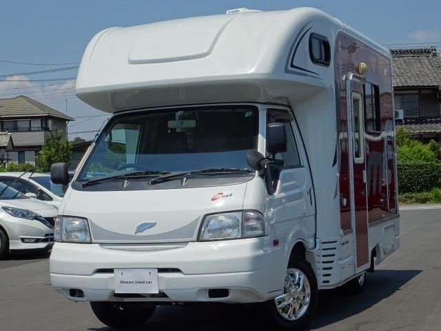 日産 バネットトラック  キャンピング ナッツ マッシュタイプA 6人定員 ダブルタイヤ 2段ベッド FFヒーター ソーラーP