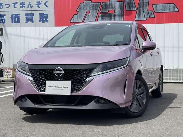 日産 1.2 X メーカーナビ・試乗車アップ