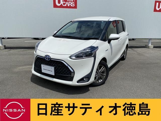 シエンタ(トヨタ) ハイブリッド 1.5 ファンベース G ナビ TV 全方位M Bluetooth 中古車画像