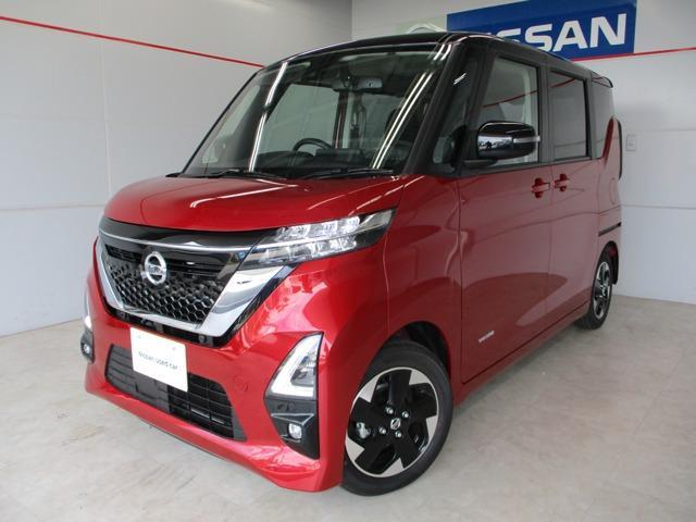 沖縄の中古車 日産 ルークス 車両価格 179万円 リ済別 2021(令和3)年 11km レッド