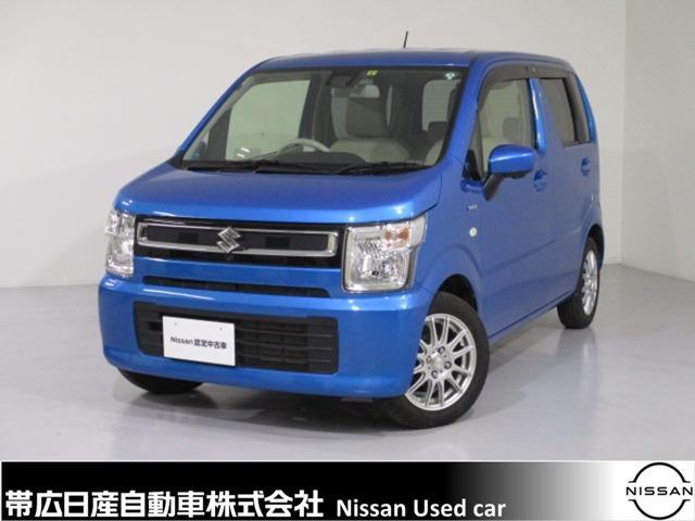 スズキ 660 ハイブリッド FX セーフティパッケージ装着車 4WD Bluetooth対応ナビ付 スタッドレスタイヤ付