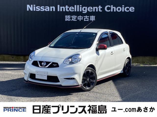 日産 マーチ 1.5 NISMO S 純正メモリーナビ 5速マニュアル車