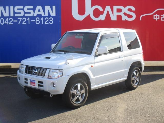 日産 キックス 660 RX 4WD 15インチアルミホイール 純正メモリーナビ(MP111-A) ワンセグ CD ETC ABS エアコン キーレスキー パワステ 寒冷地 4WD車 PW 運転席シートヒーター ターボ フォグランプ