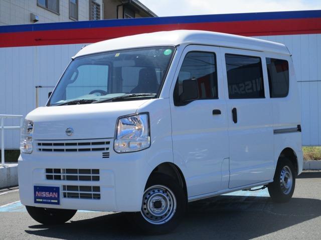 日産 NV100クリッパーバン 660 DX ハイルーフ 5AGS車 MJ120メモリーナビ