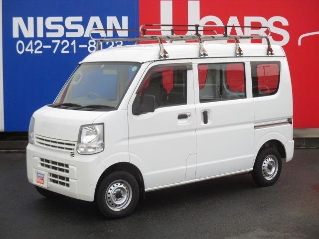 日産 NV100クリッパーバン 660 DX 5AGS車 デュアルエアバック パワーステアリング エアバッグ エアコン ABS WSRS