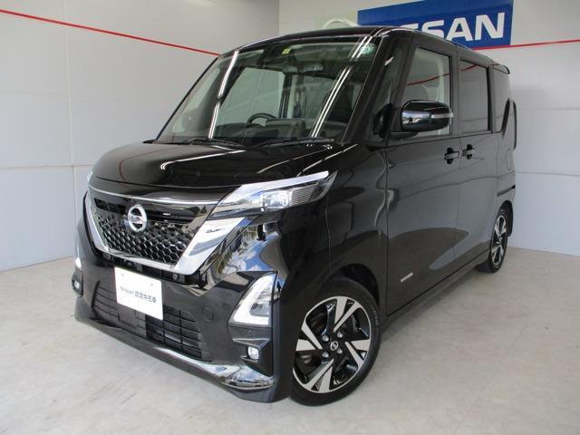 沖縄の中古車 日産 ルークス 車両価格 183万円 リ済別 2020(令和2)年 2.1万km ブラック