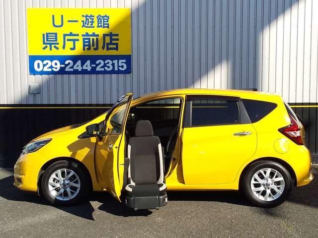 日産 1.2 X 助手席スライドアップシート 電動スライドアップ AVM LED