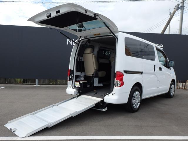 日産 NV200バネットバン 1.6 チェアキャブ 車いす1名仕様 3人掛けリアシートタイプ
