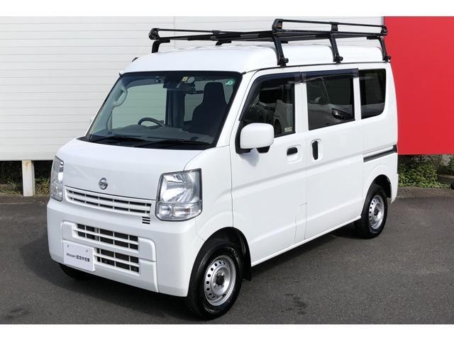 日産 DX GLパッケージ メーカー保証継承 1オーナー 車検整備付き 踏み間違い衝突防止アシスト(前進) リモコンキー パナソニック製カーナビ バックカメラ ETC ルーフキャリア ☆神奈川県外での登録・納車も承っております。