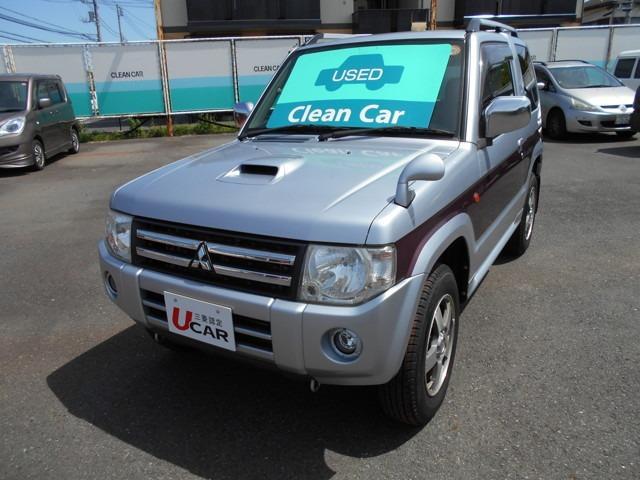 三菱 660 エクシード 4WD ワンオーナー アルミ ETC