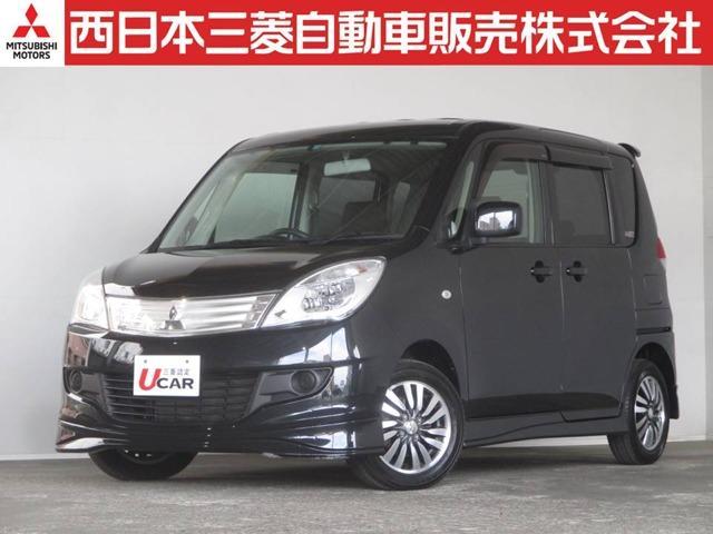 三菱 X 4WD 距離無制限保証1年付 メモリーナビ付