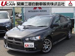 ランサー2.0 GSR X プレミアム 4WD 本革レカロ 純正ナビ