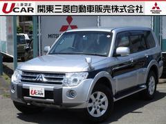 パジェロ3.0 ロング エクシード 4WD 本革シート 純正ナビ