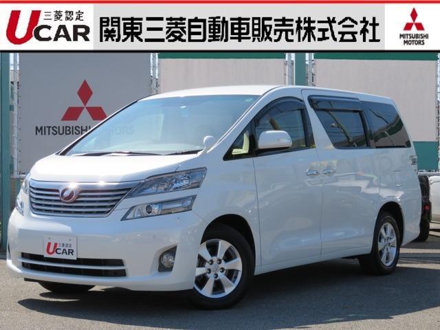 トヨタ 2.4 V 4WD 純正HDDナビ フルセグ バックカメラ