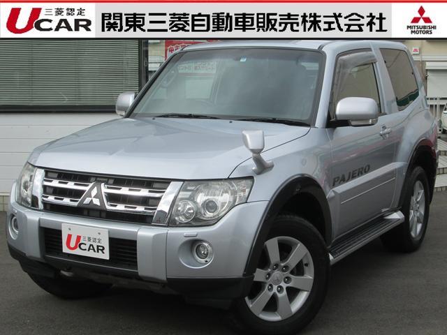 三菱 38 ショートVR-II ガソリン 4WD 禁煙 HDDナビ