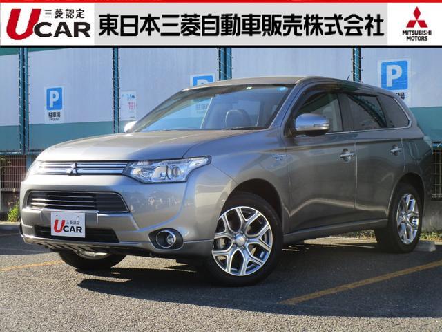 三菱 2.0 G プレミアムパッケージ 4WD 本革シート
