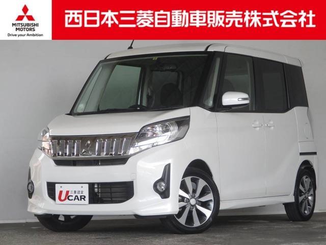 三菱 カスタム T 4WD 距離無制限保証1年付 オーディオレス車