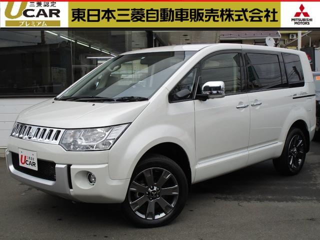 三菱 2.2DTシャモニー4WD 10th BIG-X 後席モニタ